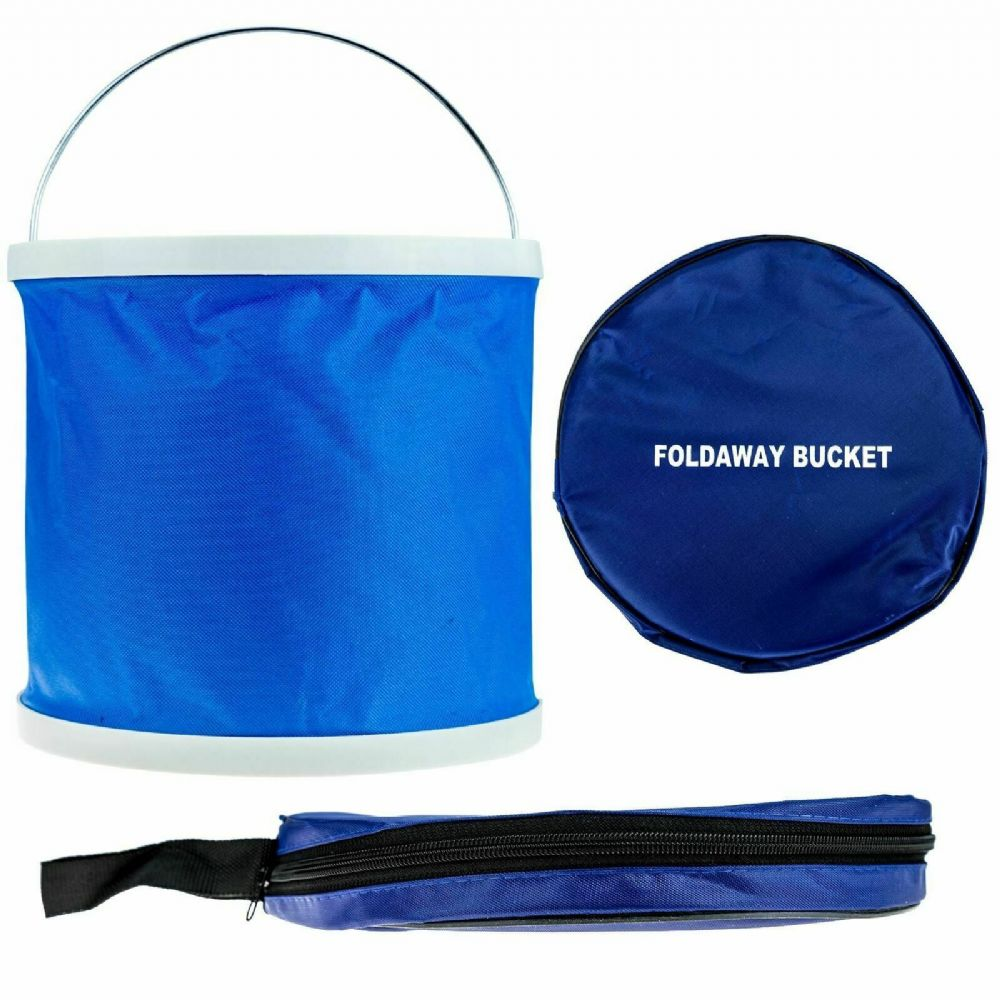 Foldaway Bucket 11L Carry Pouch Easy Storage
